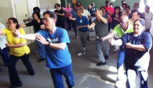Tai Chi class at Unison's Jane-Tretheway location
