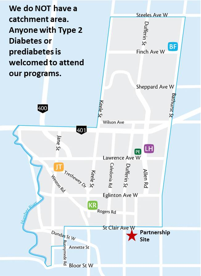 Contact Us Unison Health Community Services - Toronto us map